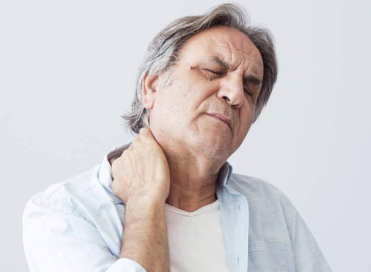 Man with Neck Pain